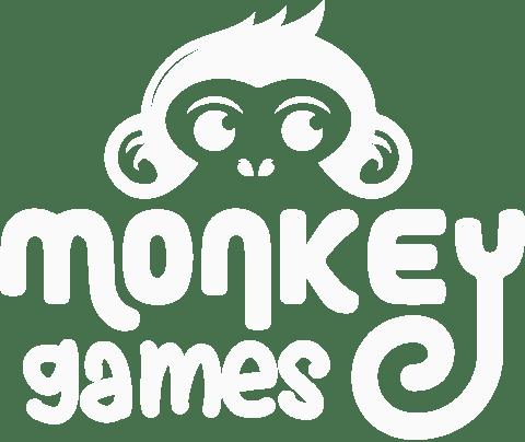 Logo-Monkey Games -White